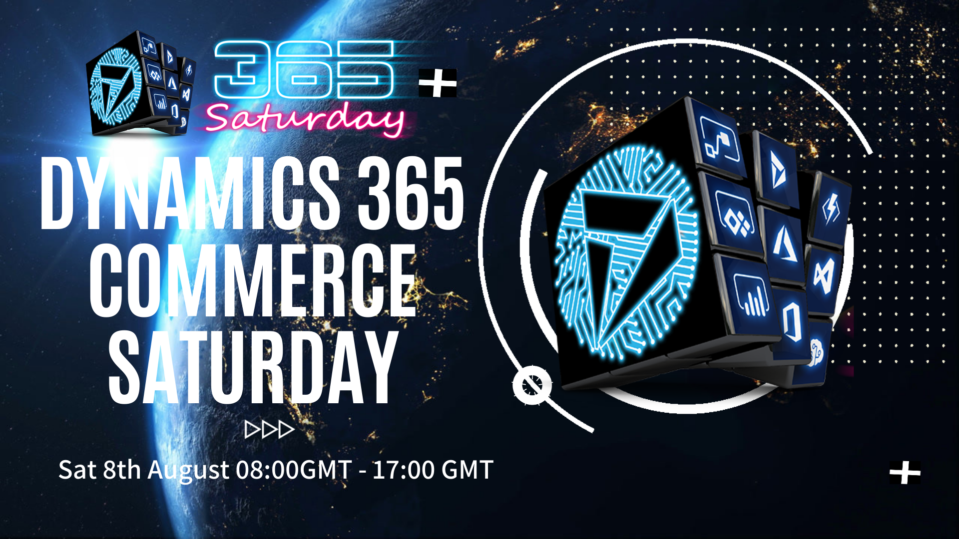 Dynamics 365 Commerce Saturday Event Poster