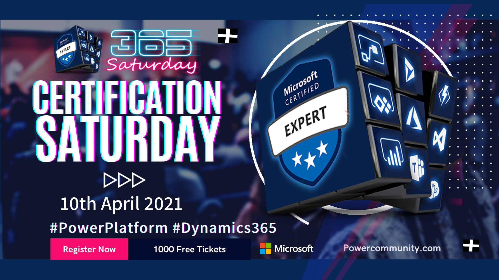 Microsoft Certification Saturday 2021