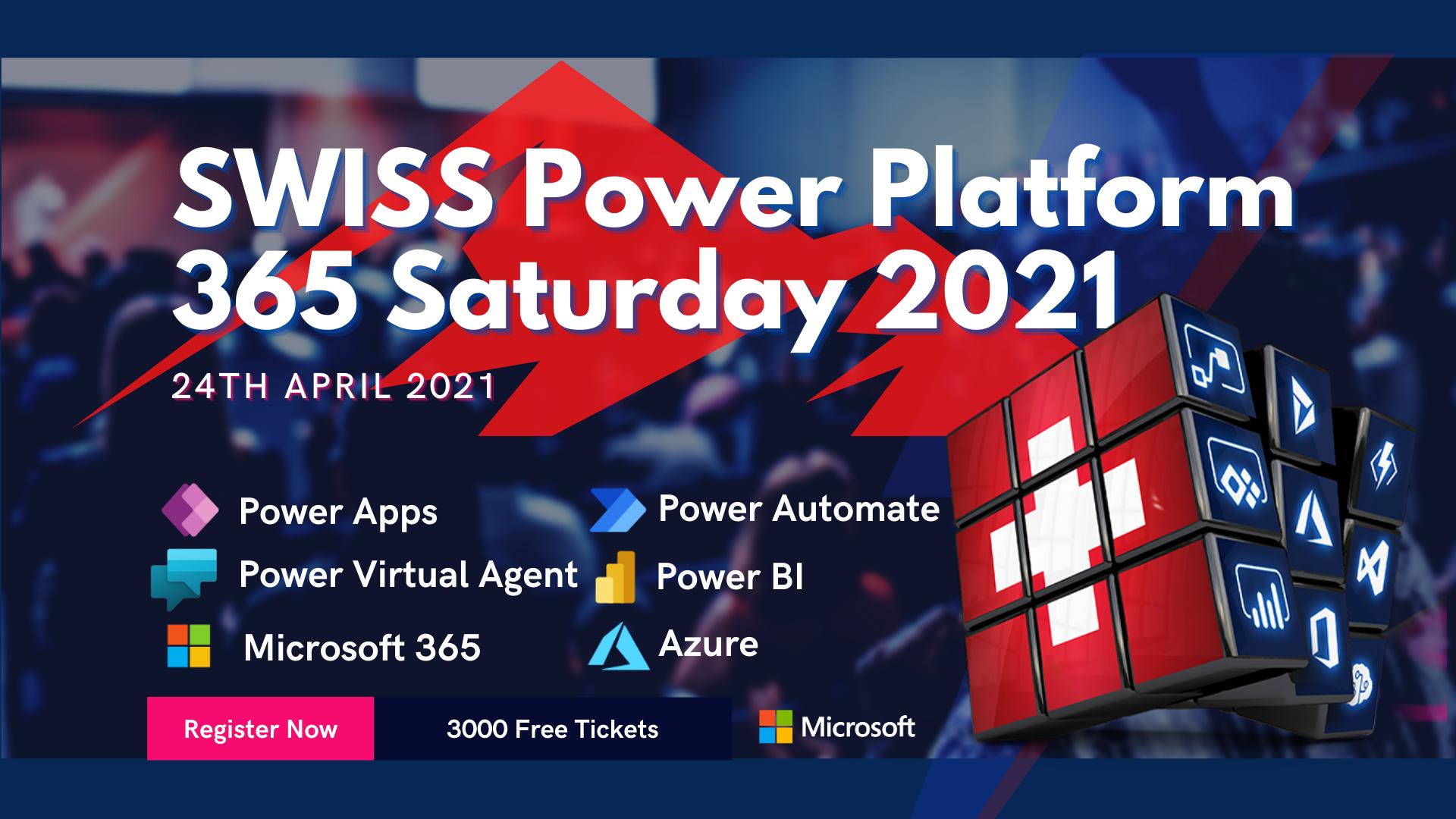 Swiss 365 Saturday 2021
