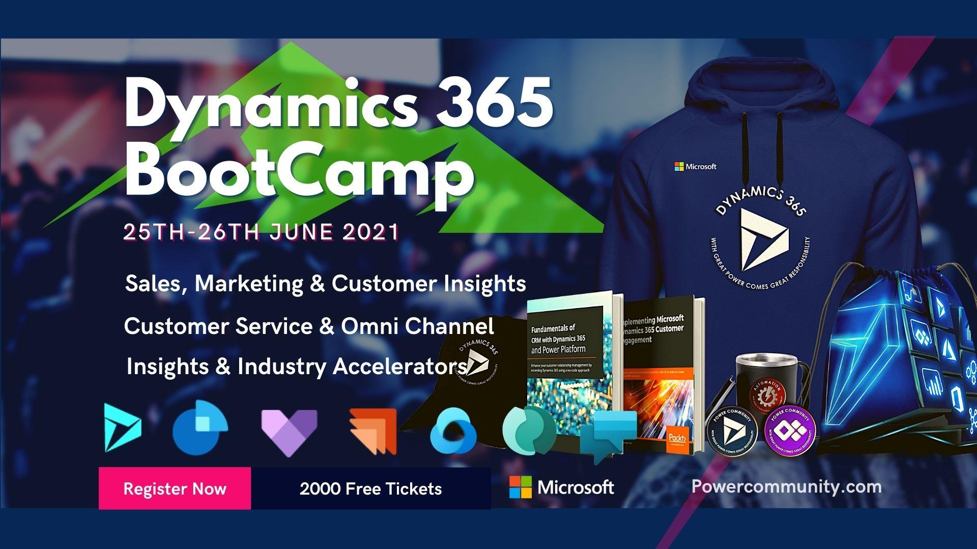 Dynamics 365 Bootcamp