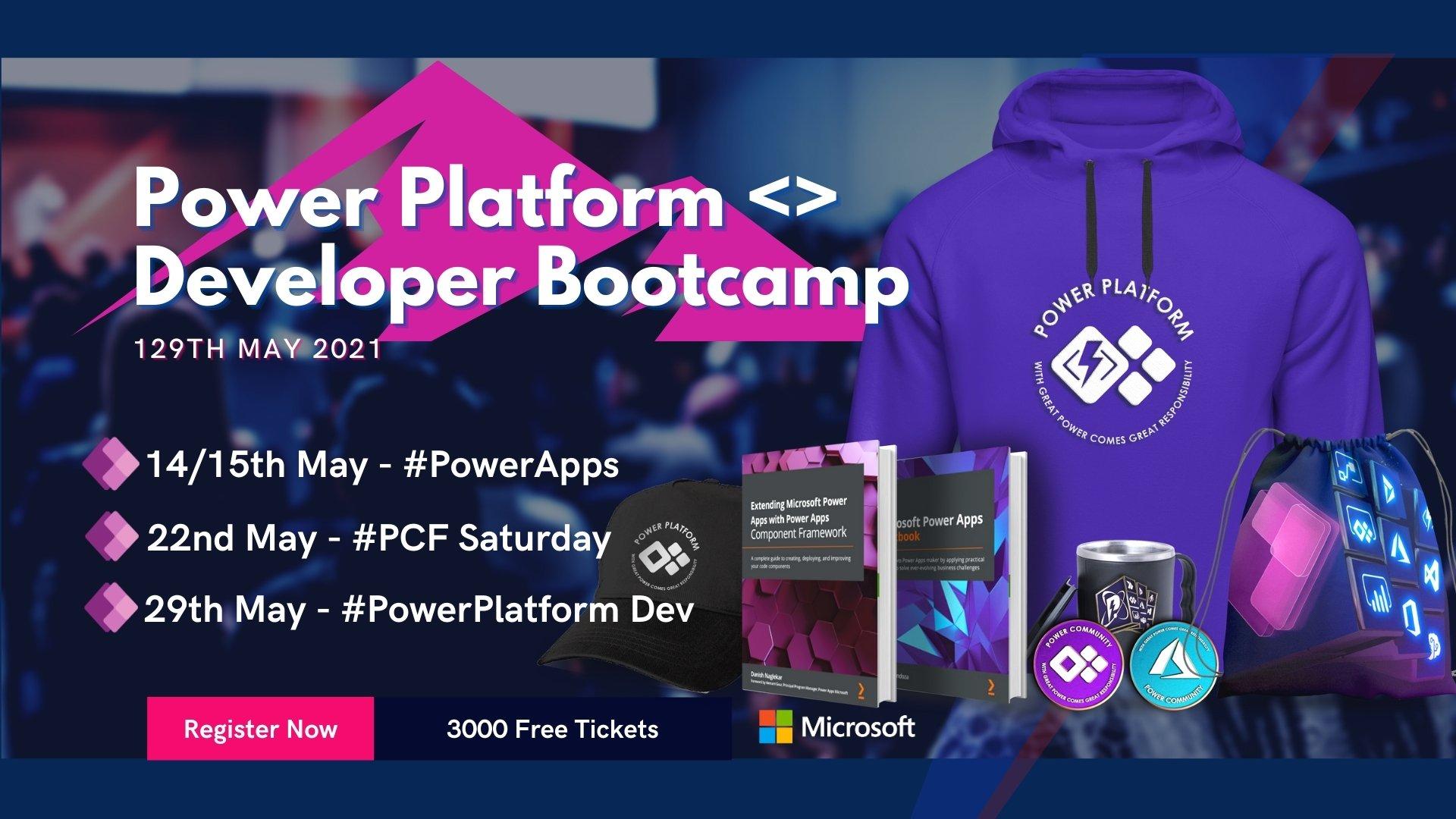 Power Platform Developer Bootcamp 2021