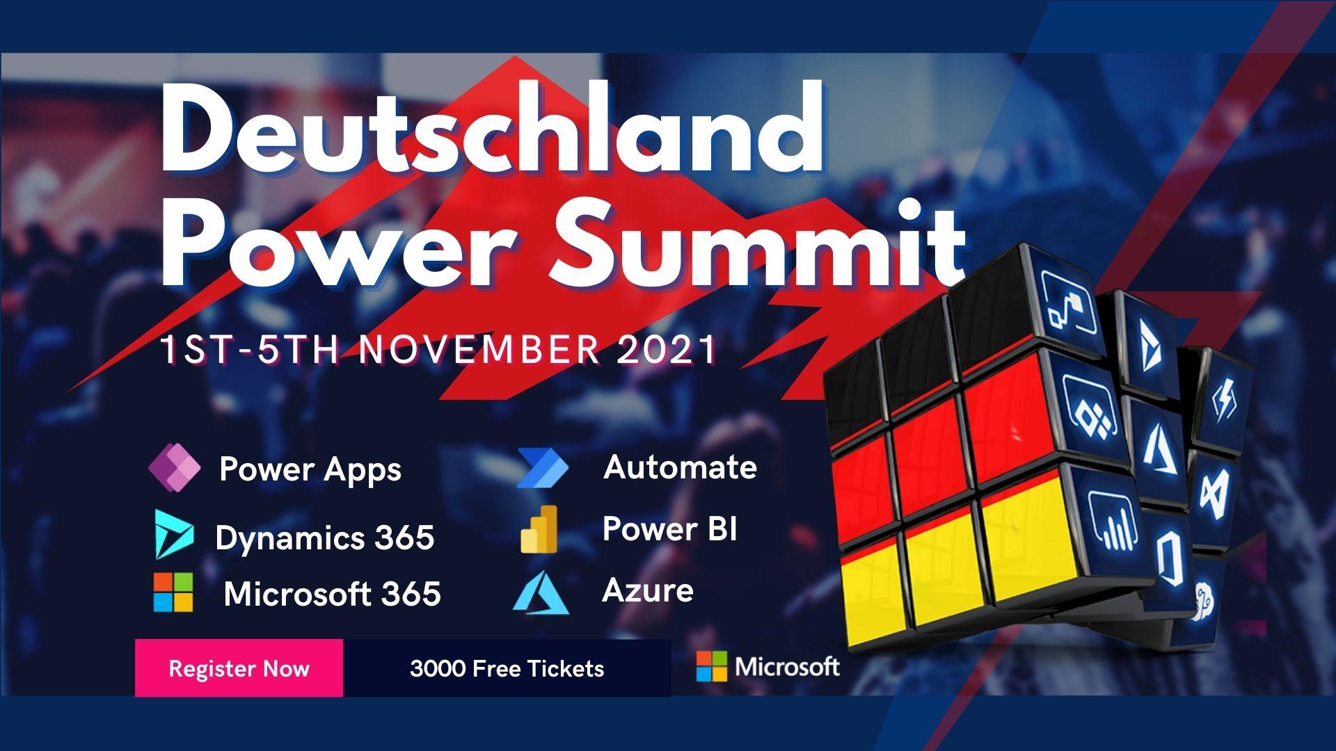 German-Power-Platform-Summit