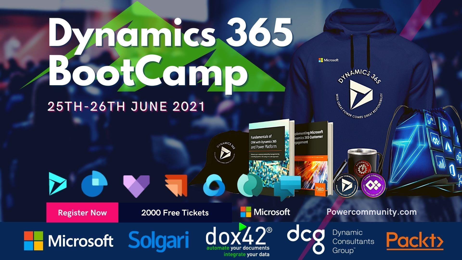Microsoft Dynamics 365 Bootcamp 2021