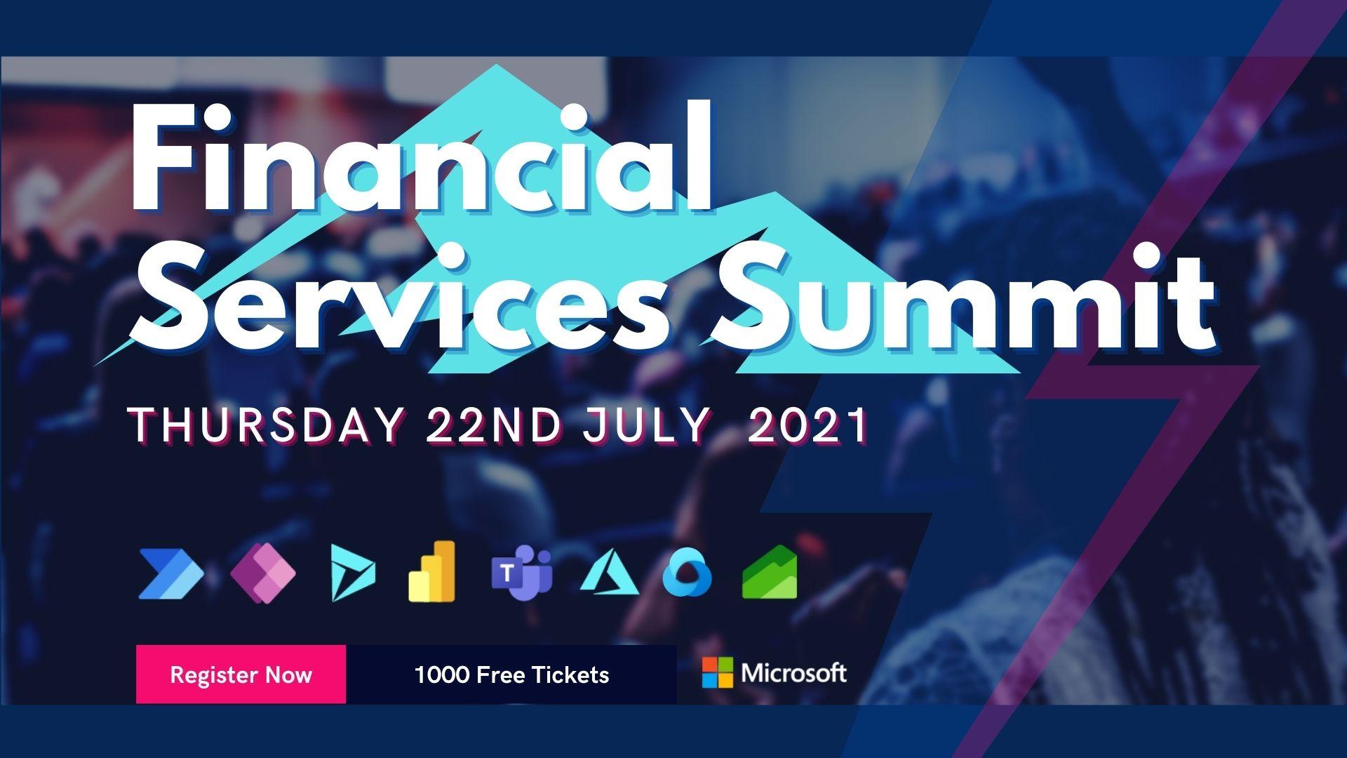 Microsoft Financial Services Community Summit