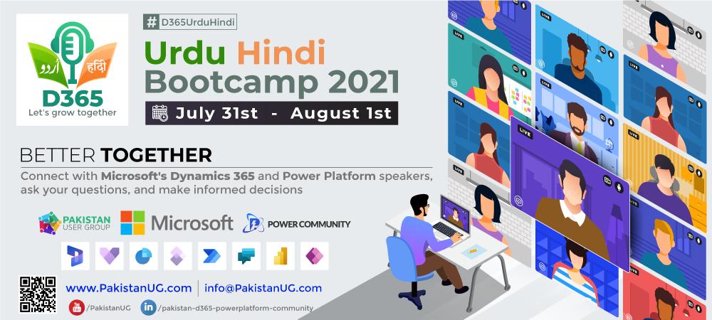 Urdu Hindi Microsoft Bootcamp