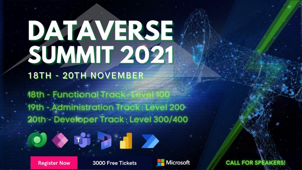 Microsoft Dataverse Summit 2021