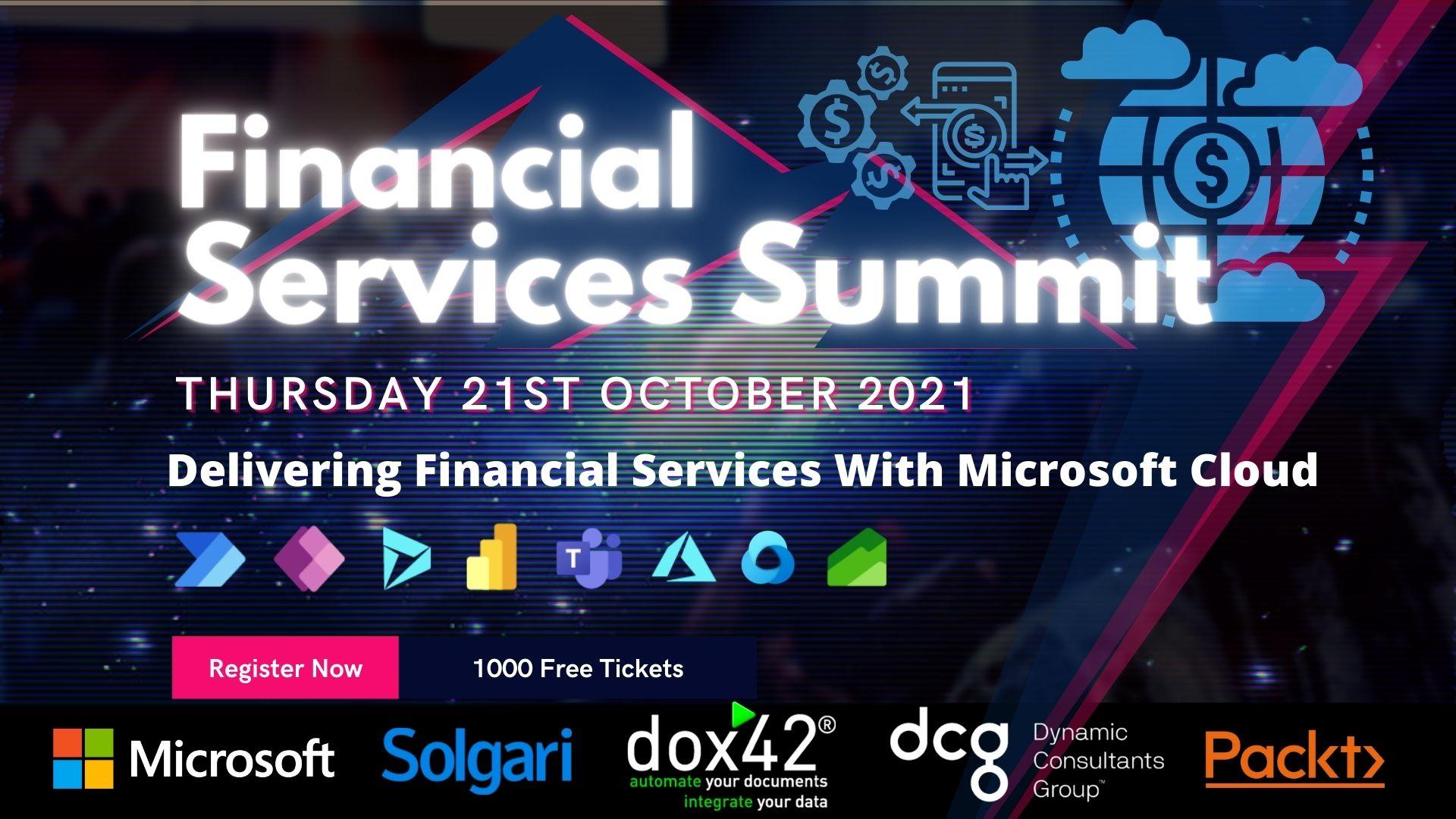 Financial Services Summit 2021